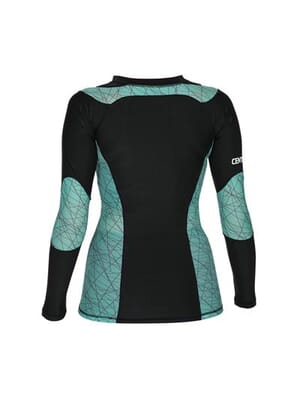 Century Women's Long Sleeve Rash Guard Large