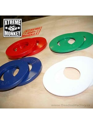 Xtreme Monkey Fractional Plate Weight Set Incl 2 x 14lbs 2 x 12lbs 2 x 34lbs 2 x 1lbs
