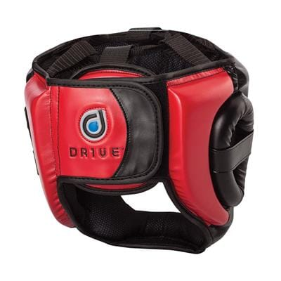 Century DRIVE Full Face Headgear L/XL (Red/Black)