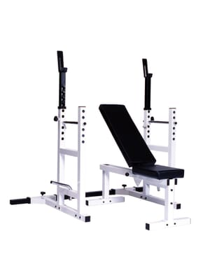 YORK Pro Series 209 With 205 FI Bench plus 204 Cage Attachment
