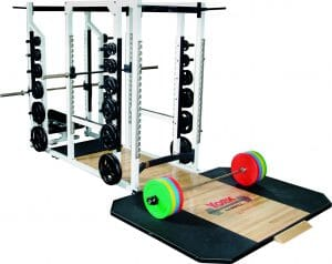 ST TRIPLE COMBO RACK - WHITE