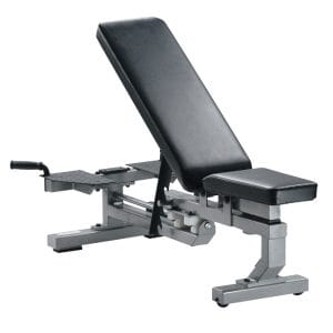 ST Multi-Function Bench with wheels - White