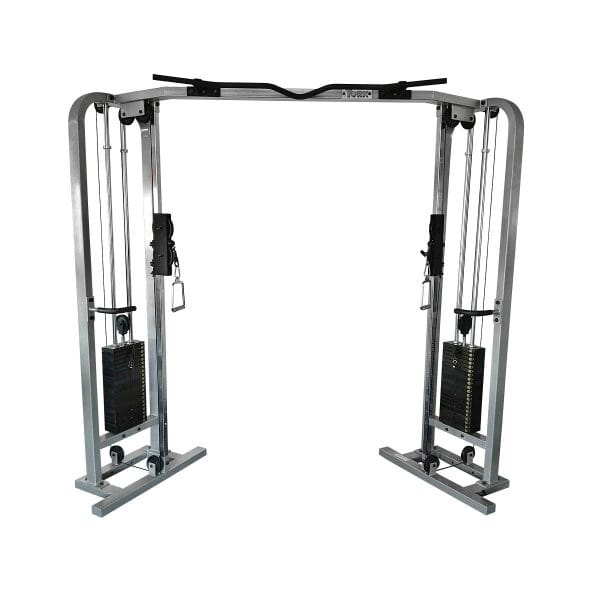ST Functional Cable Crossover - Silver 200 lb weight stack x 2