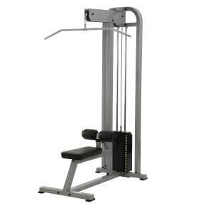 ST Lat Pulldown - Silver 250 lb weight stack