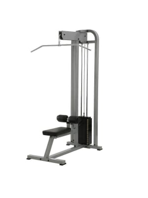 YORK ST Lat Pulldown - White 250 lb weight stack