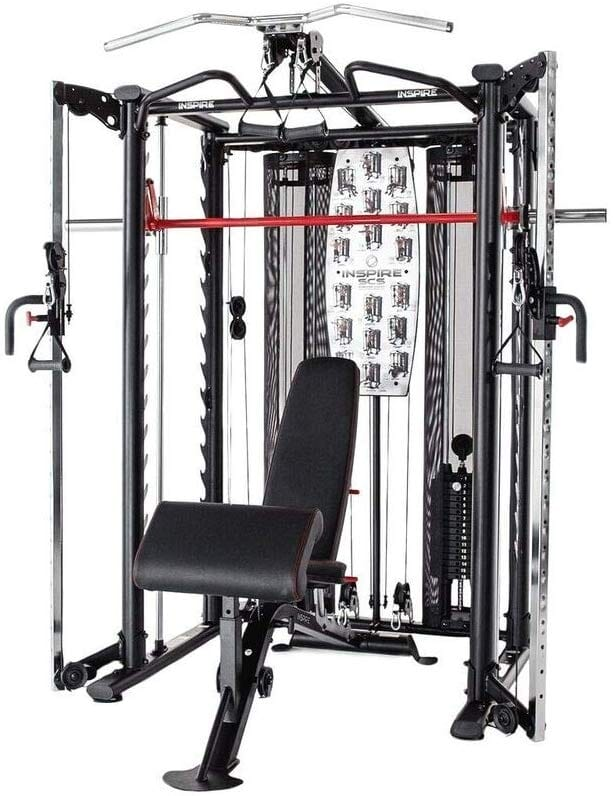 Inspire Full SCS System Cage System Functional Trainer