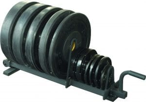 Horizontal Plate Rack - Half Set - Black