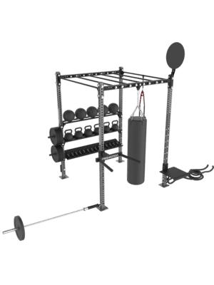 FreeMotion Fit Rig 6' Monkey Bar Rig With Accessories