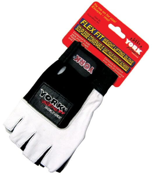 YORK Flex Fit Weight Lifting Glove Medium