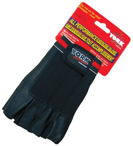 YORK All Performance Weight Lifting Glove Small