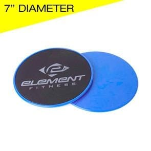 Element Fitness 7 Gliding Discs Sold in pairs