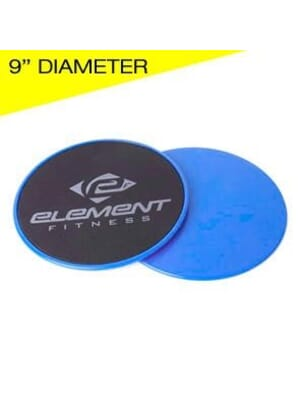 Element Fitness 9Gliding Discs Sold in pairs