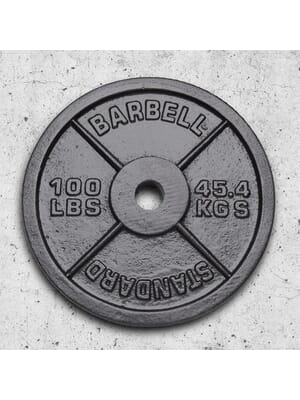 Xtreme Monkey Olympic Steel Plate 100lbs