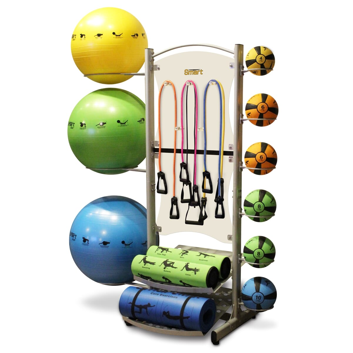Prism Smart Fitness Storage Self-Guided Deluxe Storage Tower (Tower only)