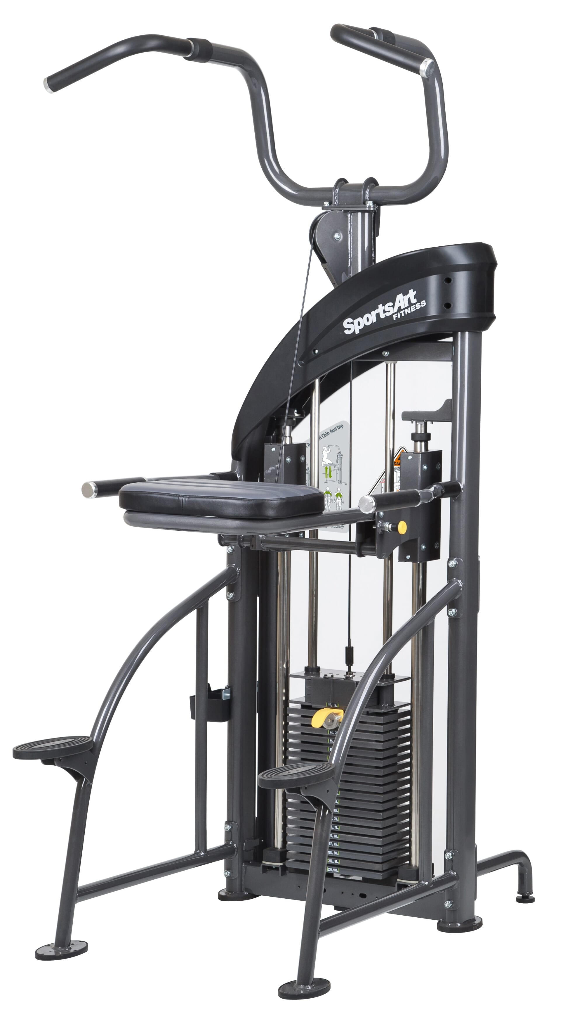 Sports Art Dual Function DF-207/P711 PERFORMANCE DUAL FUNCTION CHIN-UP/TRICEP DIP (Default)