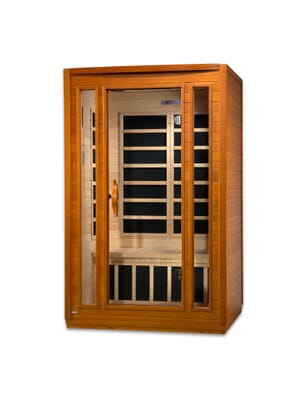 "Dynamic ""San Marino"" 2-person Low EMF Far Infrared Sauna"