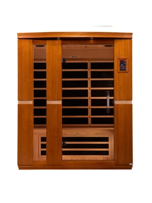 "Dynamic ""Lugano"" 3-person Low EMF Far Infrared Sauna"