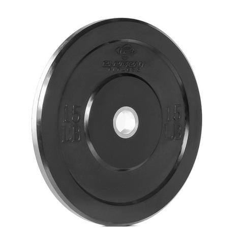 Element Fitness Commercial Colored Bumper Plates 15 lbs