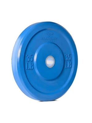 Element Fitness Commercial Colored Bumper Plates 35 lbs