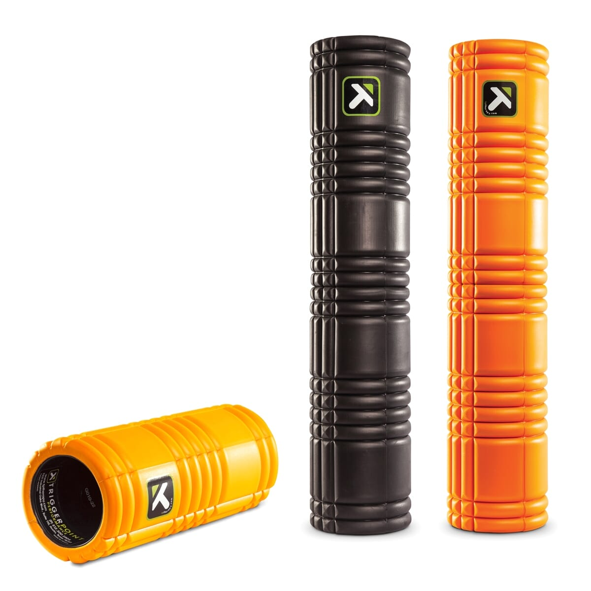 Prism Rehab and Recovery The Grid Foam Roller - Orange