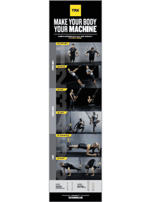 TRX Commercial Exercise Poster