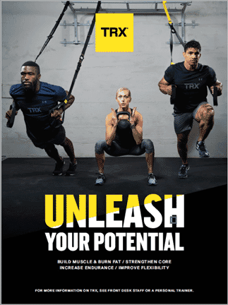 TRX Unleash Your Potentail Commercial Poster