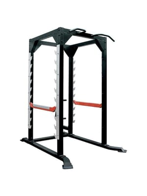 Iron Series Power Cage & Plate Rack Option Xtreme Monkey IRON Power Cage