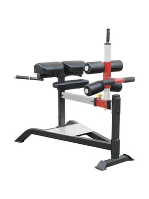 Iron Series Plate Loaded Element Fitness Iron 7013 Glute Ham Bench