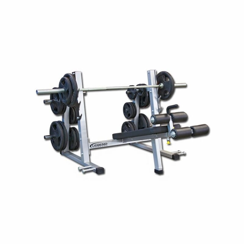 Legend Pro Series Olympic Decline Bench
