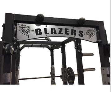 Custom Nameplate Crossmember for Pro Series Cages