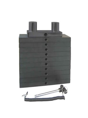 Inflight Fitness Weight Stack Upgrade 50lb Increments