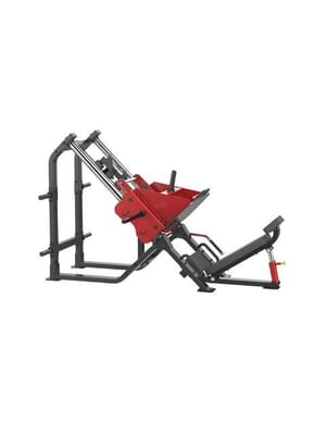Iron Series Plate Loaded Element Fitness Iron 7020 Leg Press Plate Loaded 45 degree