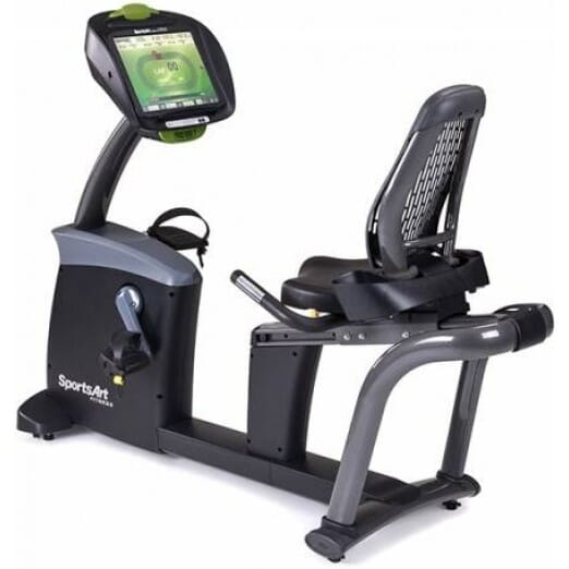 "Sports Art C575R STATUS RECUMBENT-16"" SENZA TOUCHSCREEN"