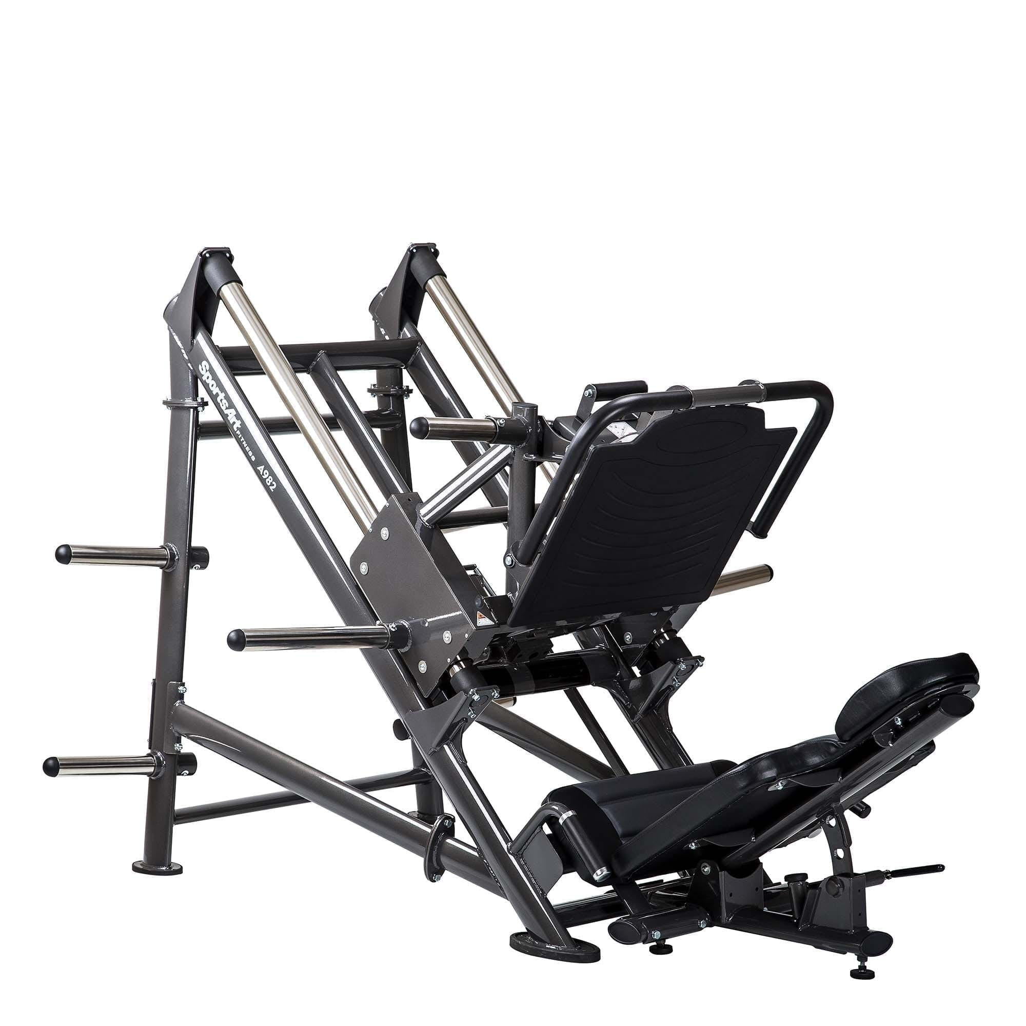 Sports Art A982 PLATE LOADED ANGLED LEG PRESS