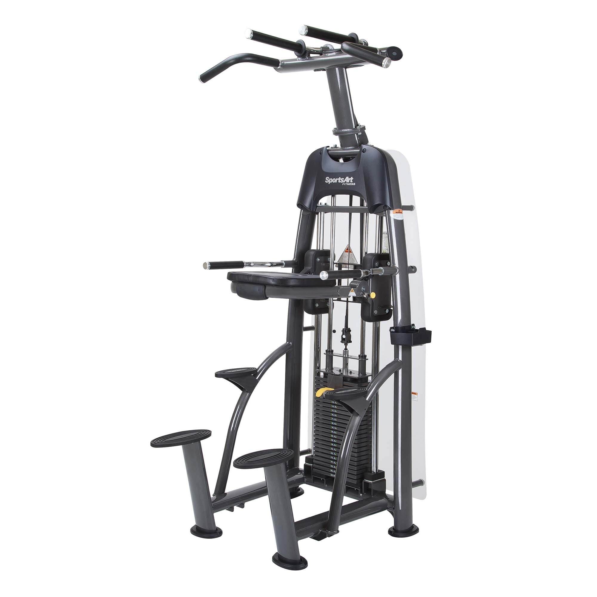 Sports Art Selectorized S911 STATUS ASSISTED CHIN-UP & TRICEP DIP (Default)