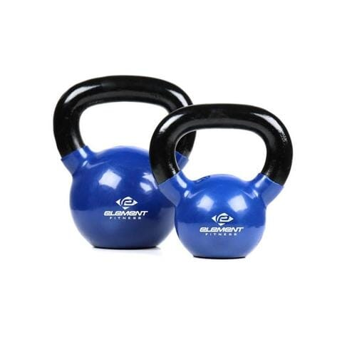 Element Fitness Vinyl Kettle Bells 40 lbs